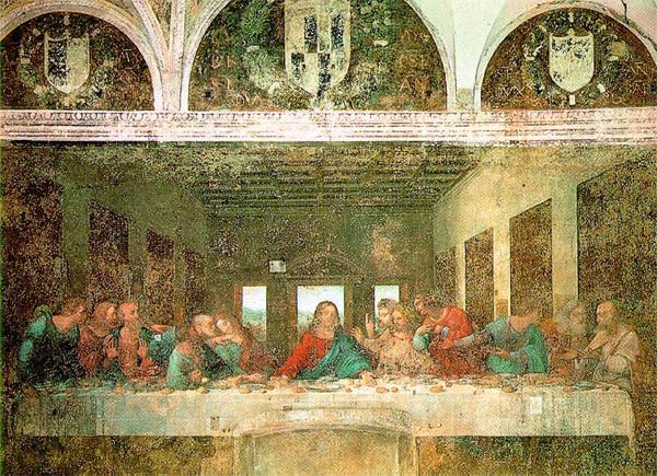 Renaissance Faires Leonardo Da Vincis The Last Supper Reveals