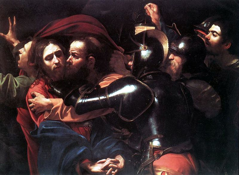 Carravaggio, The Taking of Christ