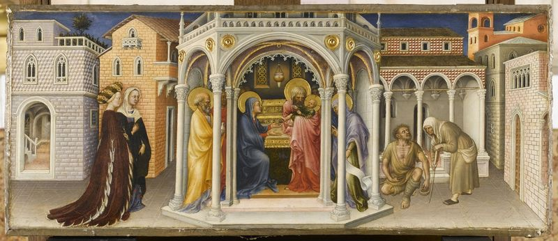 9.01 Strozzi Springtime da Fabriano Presentation of Jesus in the Temple