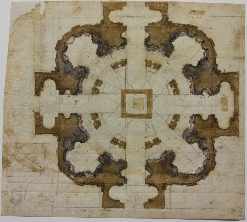 06-plan-for-the-church-of-san-giovanni-dei-florentini-in-rome